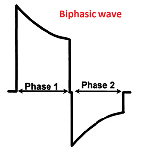 Biphasic wave