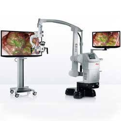 Augmented Reality Surgical Microscopes