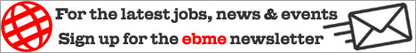 Sign up for the EBME Newsletter