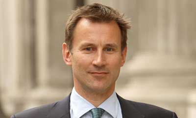 Jeremy Hunt - Health Secretary
