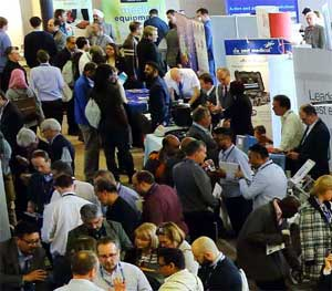 EBME Expo visitors