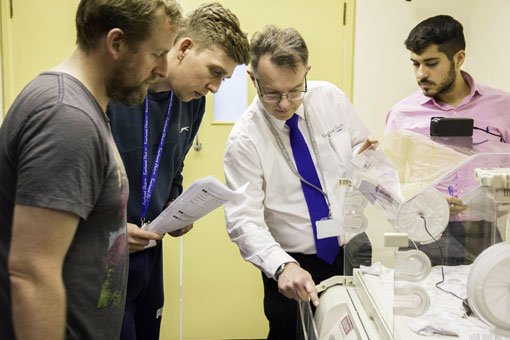Hospital engineering apprentice summer school