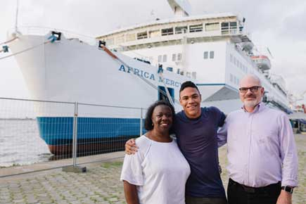 Tony Royston served as the Biomedical Technician and lived onboard the Africa Mercy with his wife, Patricia, and son, Elliot, from 2008-2018.
