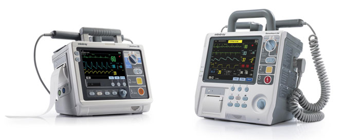 new defibrillators from Mindray