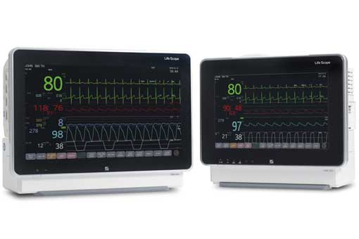 Nihon Kohden release new range of patient monitors