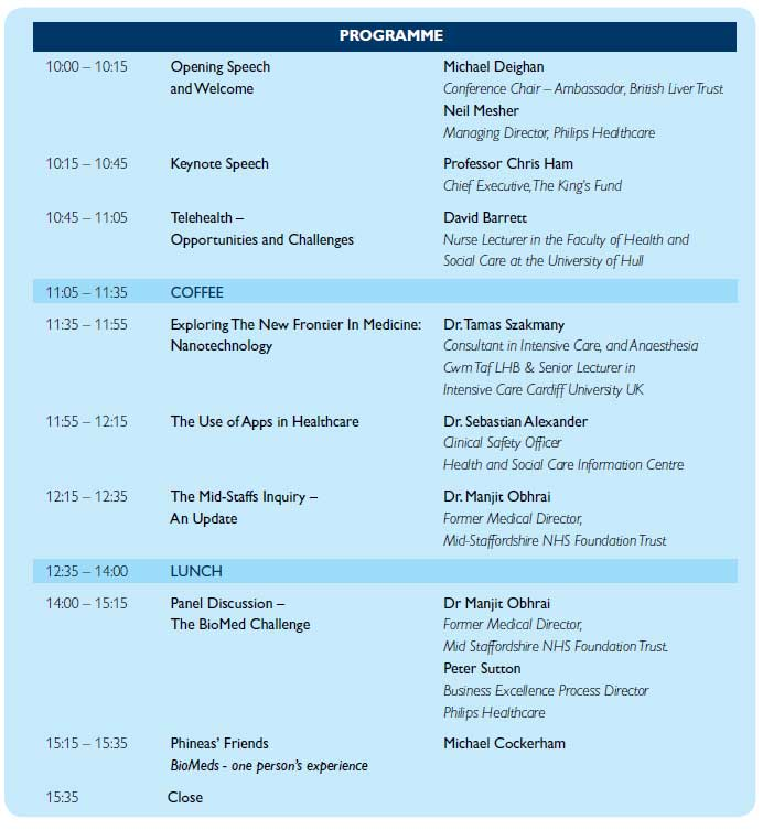philips conference programme 2013