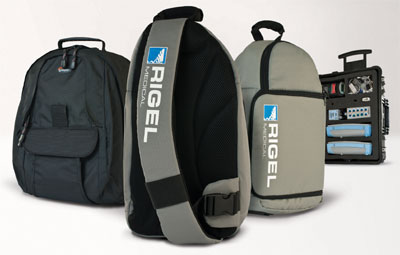 Lightweight bags from Rigel Medical