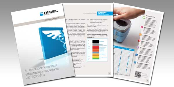 Rigel iec 62353 booklet