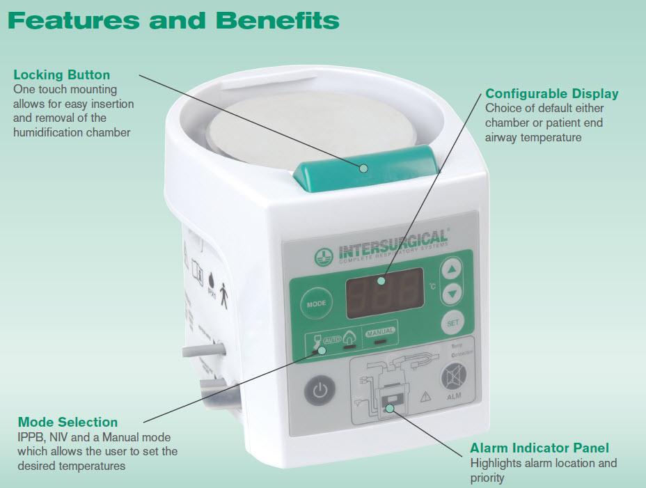 7000 series respiratory humidifier