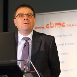 Paul Blackett at the 2017 EBME Seminar