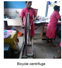 bicycle centrifuge